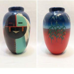 John Whiterock | Navajo Clay Vase